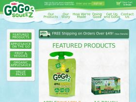 Shop.gogosqueez.com coupon code